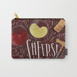 Cheers red Carry-All Pouch