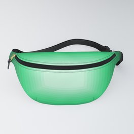 Green Square Gradient Fanny Pack