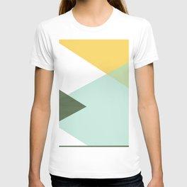 Geometrics - citrus & concrete T-shirt
