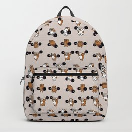 OLYMPIC LIFTING English Bulldog Backpack