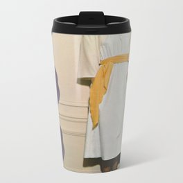 Wall Flower Metal Travel Mug