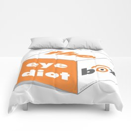 the idiot box Comforters
