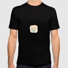 little sleaze bag Mens Fitted Tee Black MEDIUM
