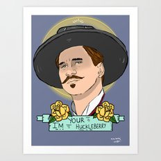 Doc Holliday Art Print
