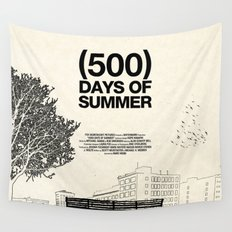 (500) Days of Summer Wall Tapestry