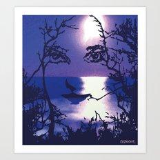 Vesperal Apparition Art Print