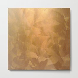Brushed Copper Metallic Paint - What Color Goes With Copper - Corbin Henry Metal Print