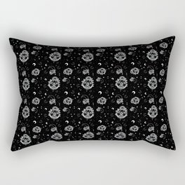 Ouija Planchette and Moon Crystals Rectangular Pillow