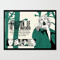 Invasion of The Body Snatchers Canvas Print