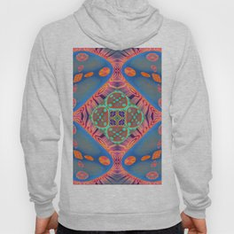 Glowing Abstract Landscape Hoody