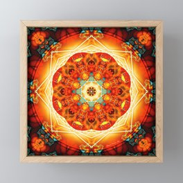 Mandalas from the Depth of Love 18 Framed Mini Art Print
