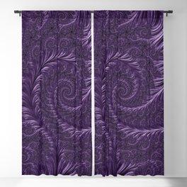 Deep Purple Blackout Curtain