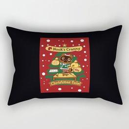 nook christmas Rectangular Pillow