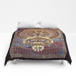 Victorian Painted Ceiling Comforters