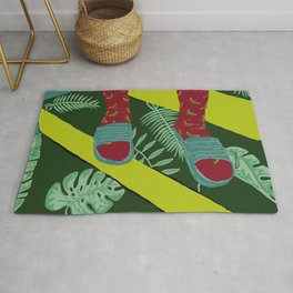 Summer-Socks & Style Inverted 1st Edition Rug