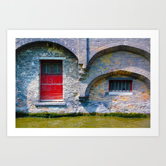 Bruges 5 Art Print