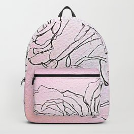 Grocery Store Roses Backpack