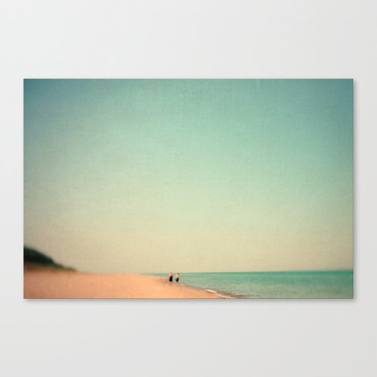 Two By Sea Canvas Print