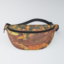 Autumn Woods by Mike Kraus - art trees forests woods nature fall abstract father's day yellow orange Fanny Pack