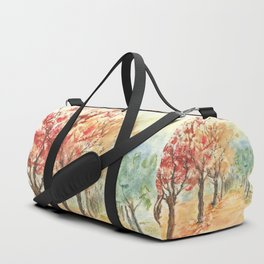 Autumn Road Duffle Bag
