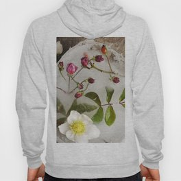 Winter flowers Hoody