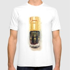 Perfume Mens Fitted Tee SMALL White