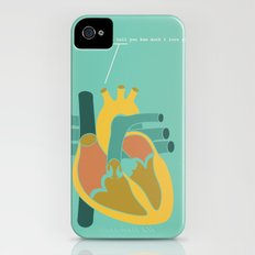 Aorta Tell You How Much I Love You iPhone (4, 4s) Slim Case