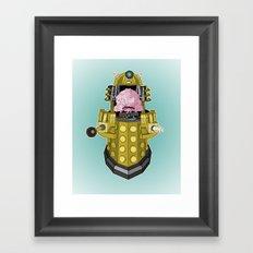 Kralek: Exterminate the Turtles! Framed Art Print