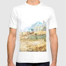 Color me pretty MEDIUM White Mens Fitted Tee
