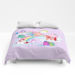 g1 my little pony early characters group Comforters