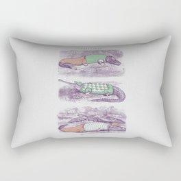 Golf Buddies Rectangular Pillow