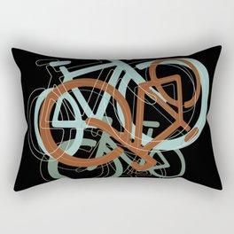 mix of bikes_01 Rectangular Pillow