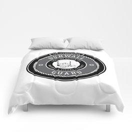 Whiskey & Cigars (Grey) Comforters