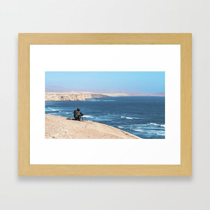 Paracas Reserve Framed Art Print