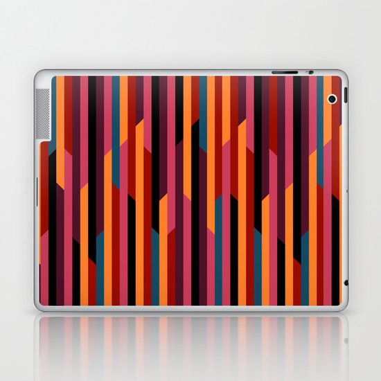 Geometric stripes Laptop & iPad Skin