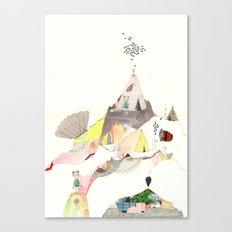 Kids Discover Magic Mountain Canvas Print