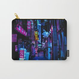 Tokyo's Blade Runner Vibes Carry-All Pouch