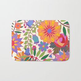 Just Flowers Lite Bath Mat