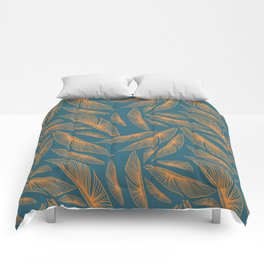 Feathered Leaf Pattern Comforters