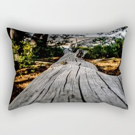 The Long Way Rectangular Pillow