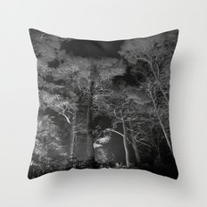 Fae Forest Throw Pillow