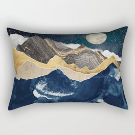 Midnight Winter Rectangular Pillow