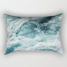 Ocean Storm Rectangular Pillow