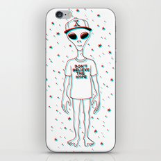 Don't Believe the Hype iPhone & iPod Skin