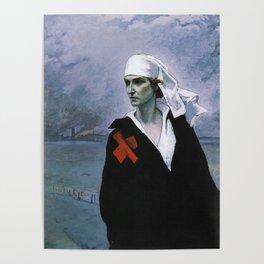 La France Croisee Romaine Brooks Poster
