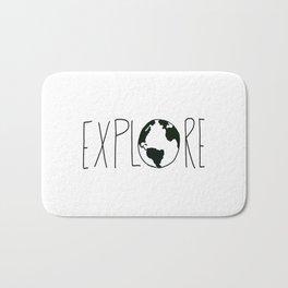 Explore the Globe x BW Bath Mat