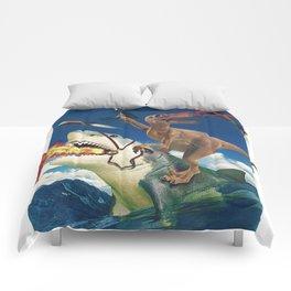 Crazy Raptor Comforters