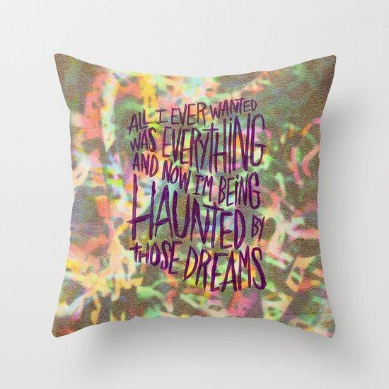 KING TUFF Throw Pillow