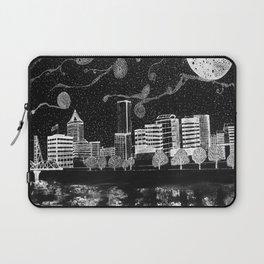 Portland Oregon Skyline Laptop Sleeve