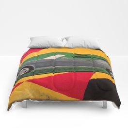 Mustang convertible Comforters